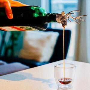 flaschenaufsatz hirsch