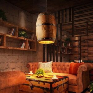 Deckenlampe Lampe Holz Designerlampe 300x300