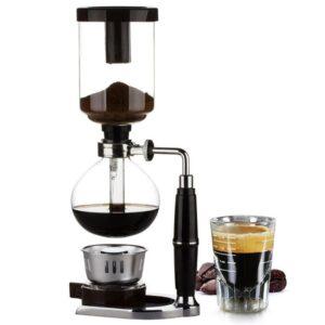 Kaffee Espressomaschine Glas Design Neu 1 300x300