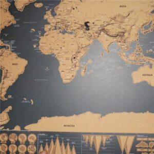 Stucke Scratch Karte Welt Reise Karte Main 4 300x300