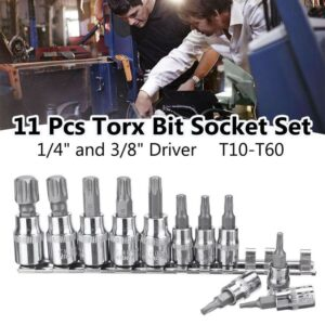 Torx 10 60 Bit Nuss Set 14 38 Zoll Neu 300x300