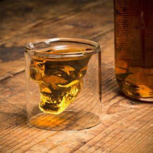 kristall schädel shot glass